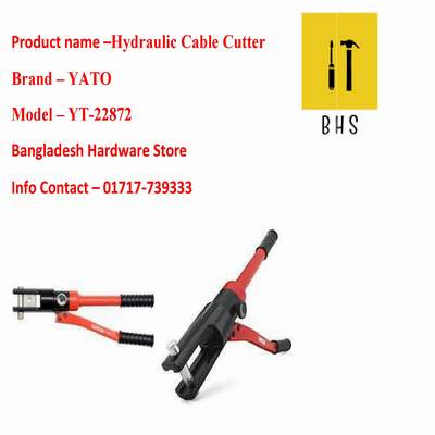 yt-22872 hydraulic cable cutter in bd