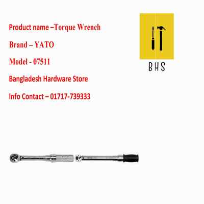 yt-07511 torque wrench in bd