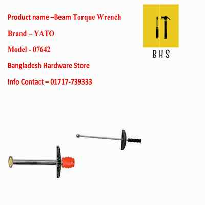 yt-07642 beam torque wrench in bd